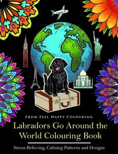 labrador colouring book