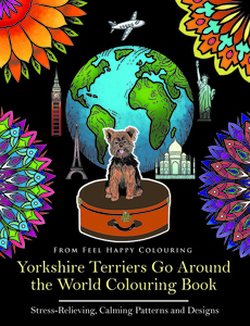 YORKSHIRE TERRIER COLOURING BOOK