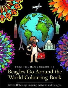 beagle coloring book pages