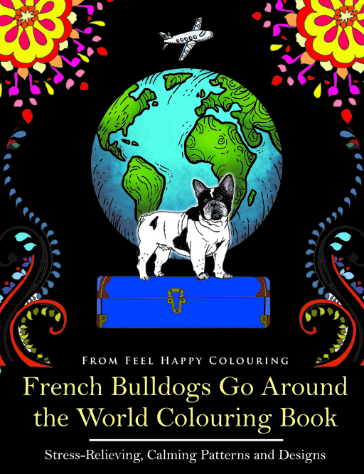FRENCHie colouring coloring book pages