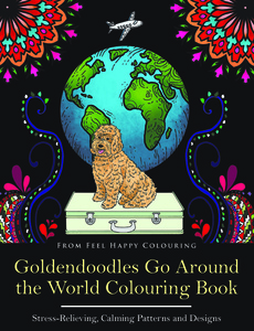goldendoodle colouring book