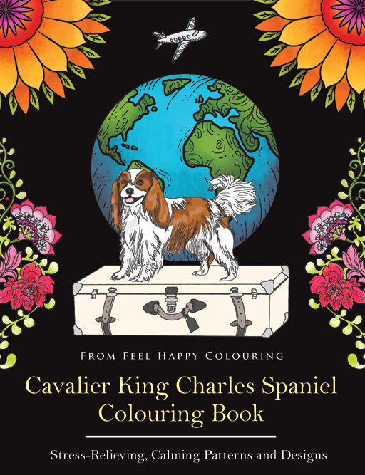 Cavalier King Charles Spaniel Colouring Book