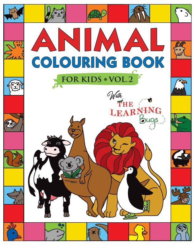 kids-animal-colouring-book