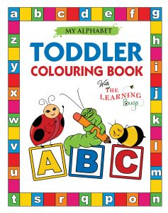 Alphabet toddler colouring