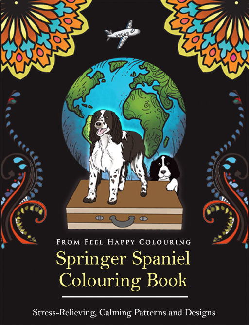 springer-spaniel-colouring-book