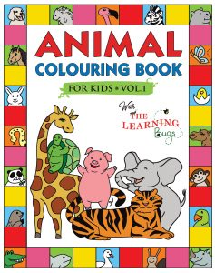 animal colouring book UK