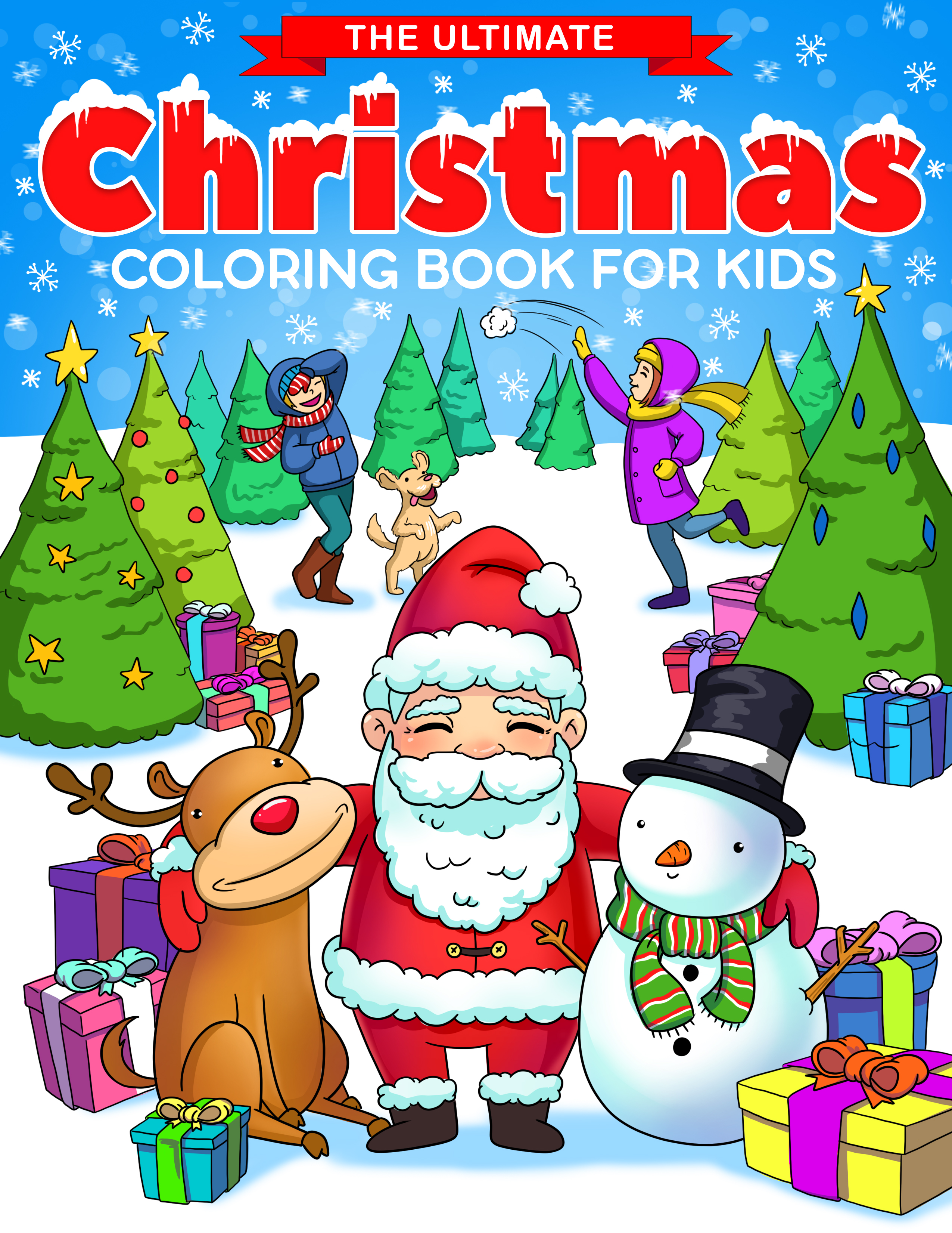- The Ultimate Christmas Coloring Book For Kids