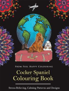 cocker-spaniel-colouring-book