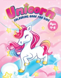 unicorn colouring books for kids