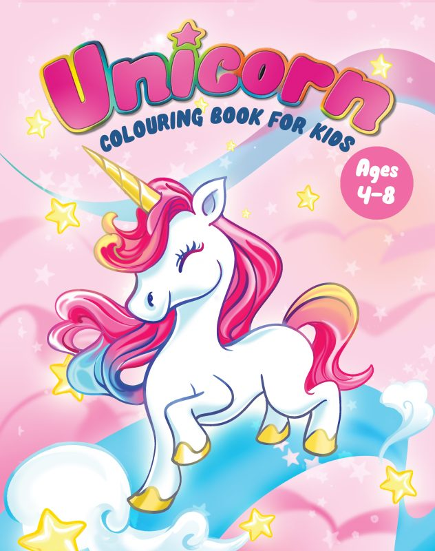 unicorn colouring books for kids