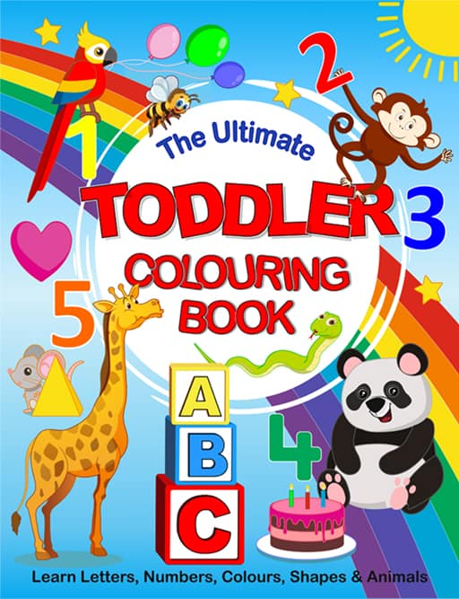 ultimate toddler colouring book